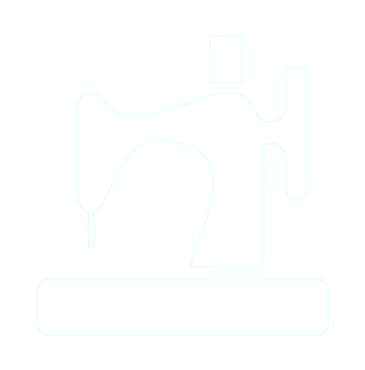 Outline of a sewing machine